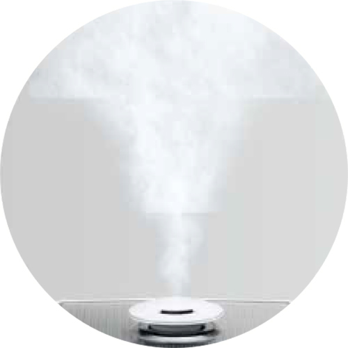 The Easy Mist™ Humidifier Air Humidifier in White 3 Mist Levels