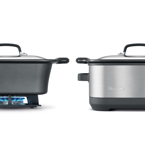 the Flavour Maker® 7L Cooker In Brushed Stainless Steel one pot cooking