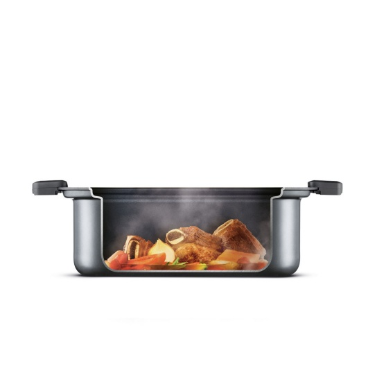 the Searing Slow Cooker™ Cookers in Brushed Stainless Steel