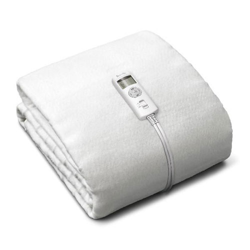 BodyZone® Double Antibacterial Fitted Heated Blanket in like a blanket but way better
