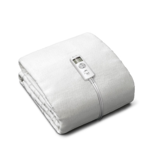 BodyZone® Single / King Single Antibacterial Fitted Heated Blanket White