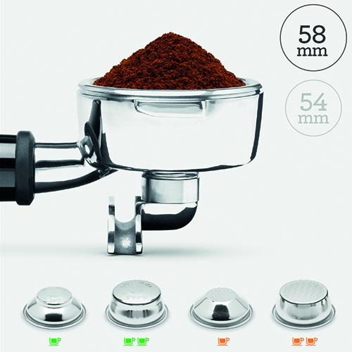 breville coffee machine has digital control