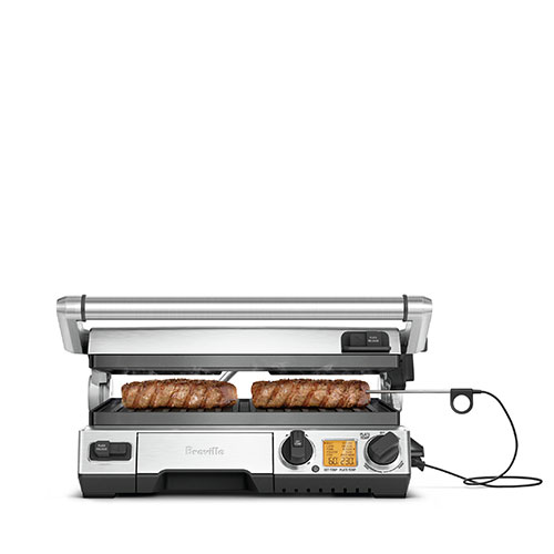 the Smart Grill™ Pro Grills & Sandwich Makers in Silver rest assured