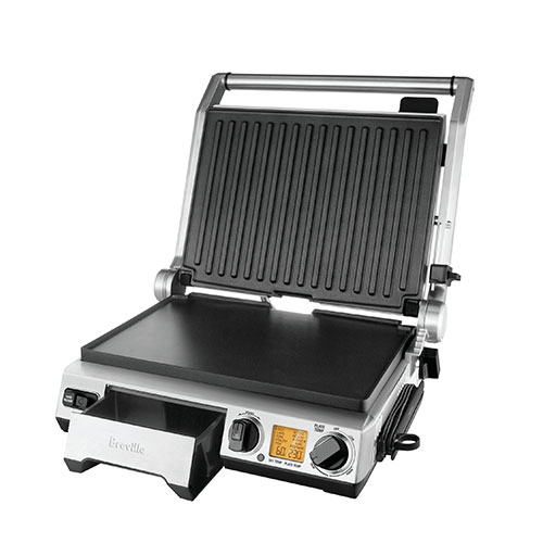 the Smart Grill™ Pro Grills & Sandwich Makers in Silver dishwasher safe removable plates