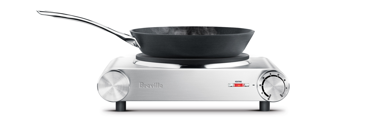 the Handy Hotplate™1 induction & hot plates in brushed stainless steel