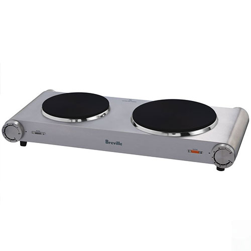 the Handy Hotplate™2 induction & hot plates in brushed stainless steel consistent heat