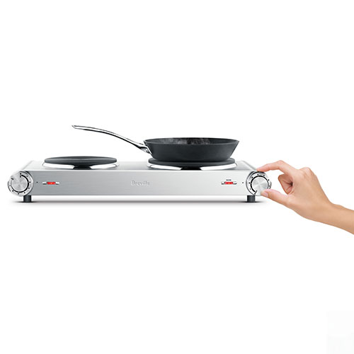 the Handy Hotplate™2 induction & hot plates in brushed stainless steel durable design