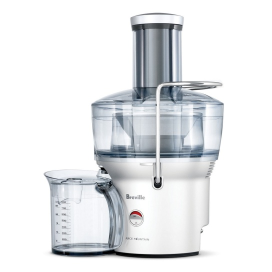 the Juice Fountain® Compact Silver