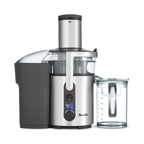 the Froojie® Fountain Juicer In Brushed Stainless Steel easy clean