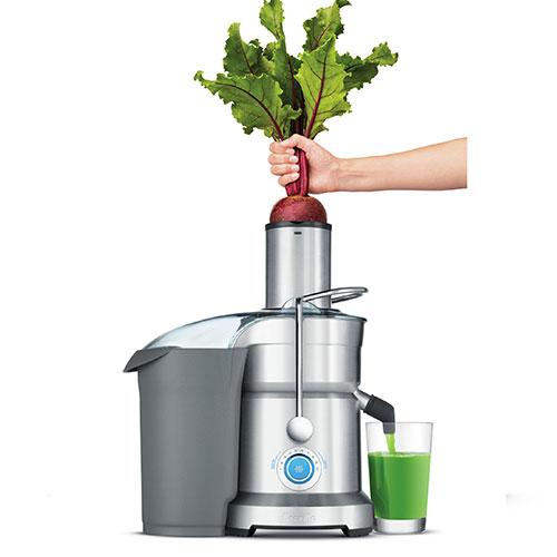 the Cold Fountain Pro™ Juicer In Brushed Aluminium shortened prep time
