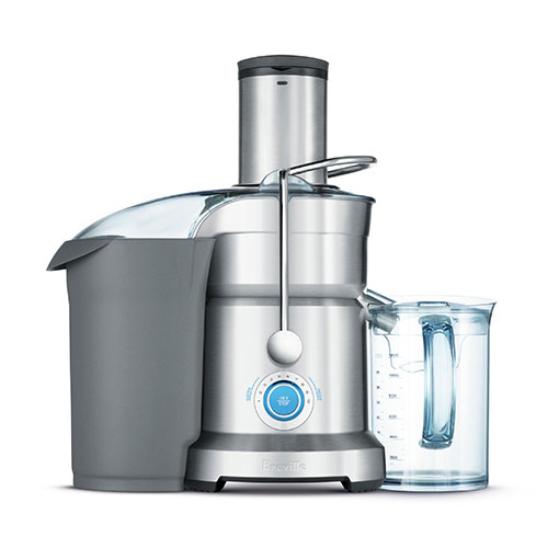 the Cold Fountain Pro™ Juicer In Brushed Aluminium easy clean design