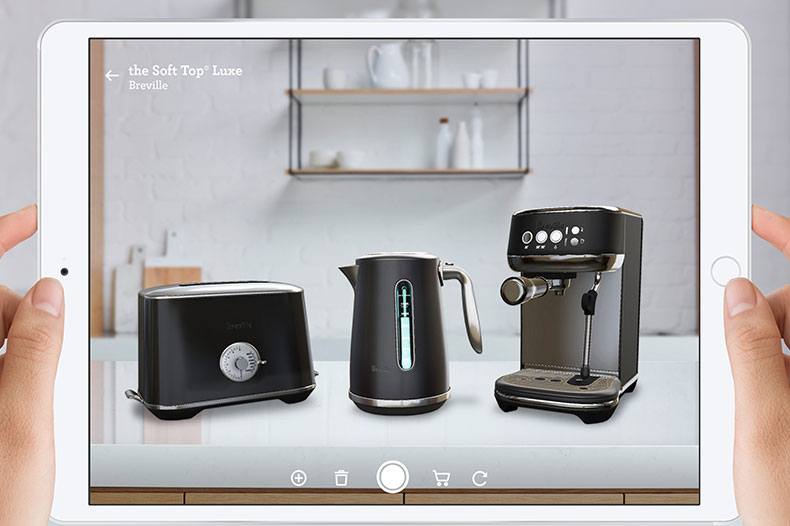 Discover Breville Augmented Reality