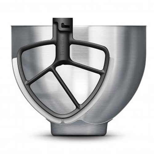 the Scraper Beater™ Mixer in Silver durable mixing bowl