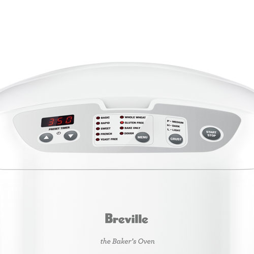 the Bakers Oven™ Oven Machine in White key programs