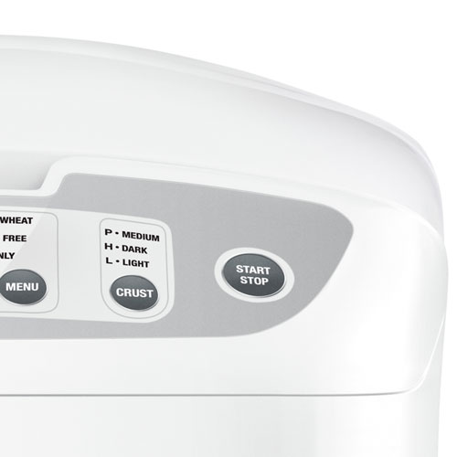 the Baker's Oven™ Bread Makers in White crust settings