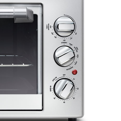 the Toast & Roast Pro™ Oven Machine in Silver 4 cooking functions