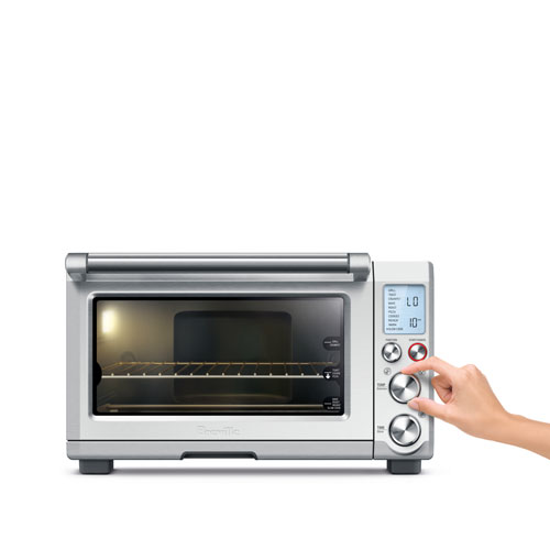 the Smart Oven™ Pro Ovens in Brushed Stainless Steel interior oven light