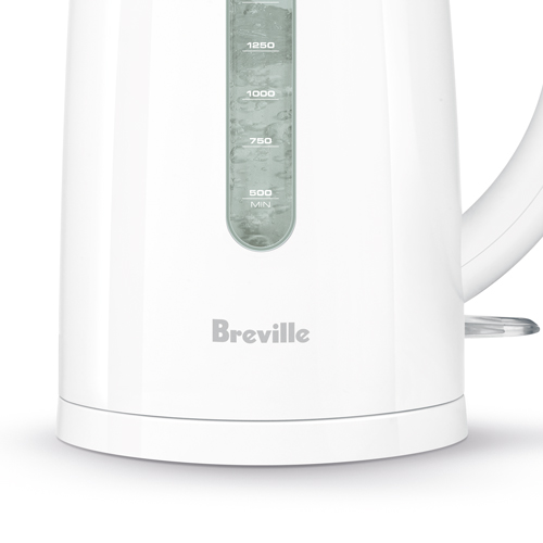 the Soft Top™ Classic Kettles & Tea in White cordless convenience