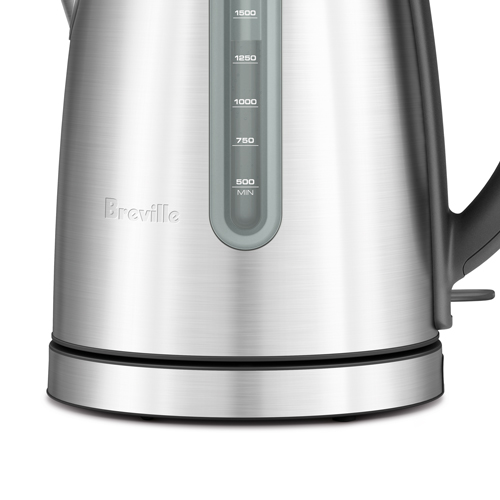 the Soft Top™ Dual Kettles & Tea in Brushed Stainless Steel cordless convenience