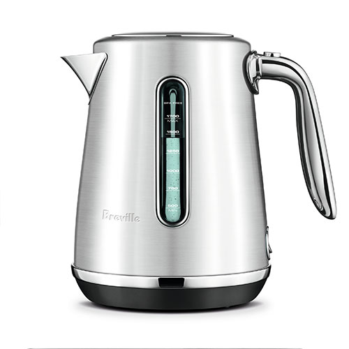 the Soft Top™ Luxe Kettles & Tea in Brushed Stainless Steel luxe design