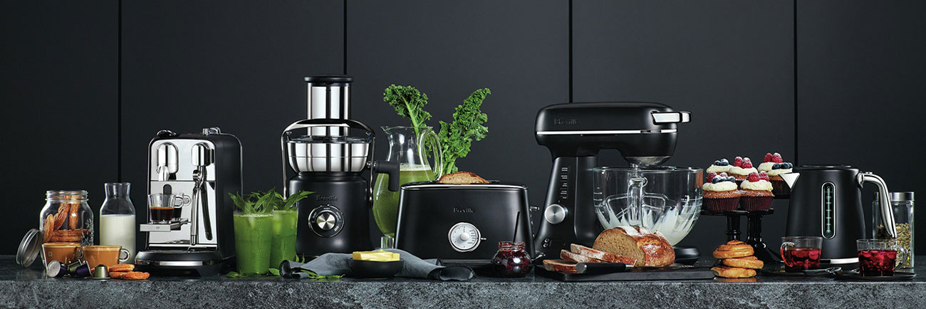 the Soft Top™ Luxe Kettles & Tea in Brushed Stainless Steel