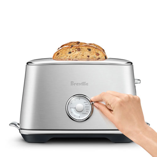 the Toast Select Luxe® Toaster In Brushed Stainless Steel browning control