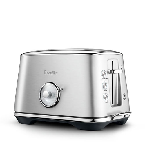 the Toast Select Luxe® Toaster In Brushed Stainless Steel auto features
