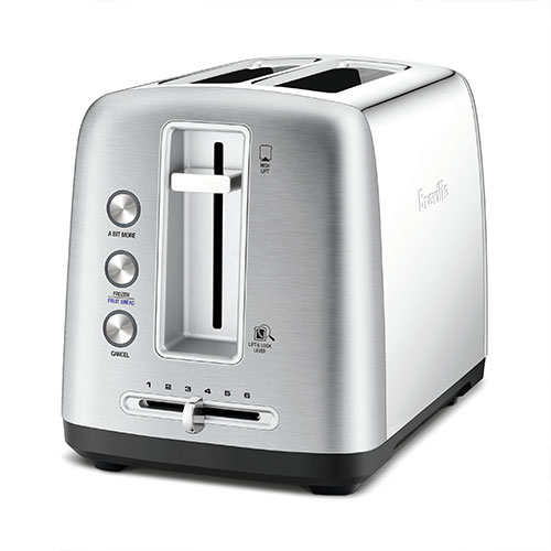 the Toast Control™ 2 Toasters in Brushed Stainless Steel 6 browning controls