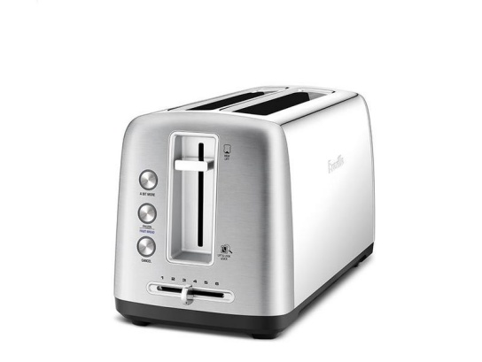the Toast Control™ Long Toasters in Brushed Stainless Steel