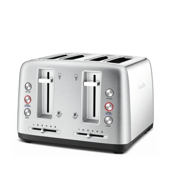 the Toast Control™ 4 Toasters in Brushed Stainless Steel