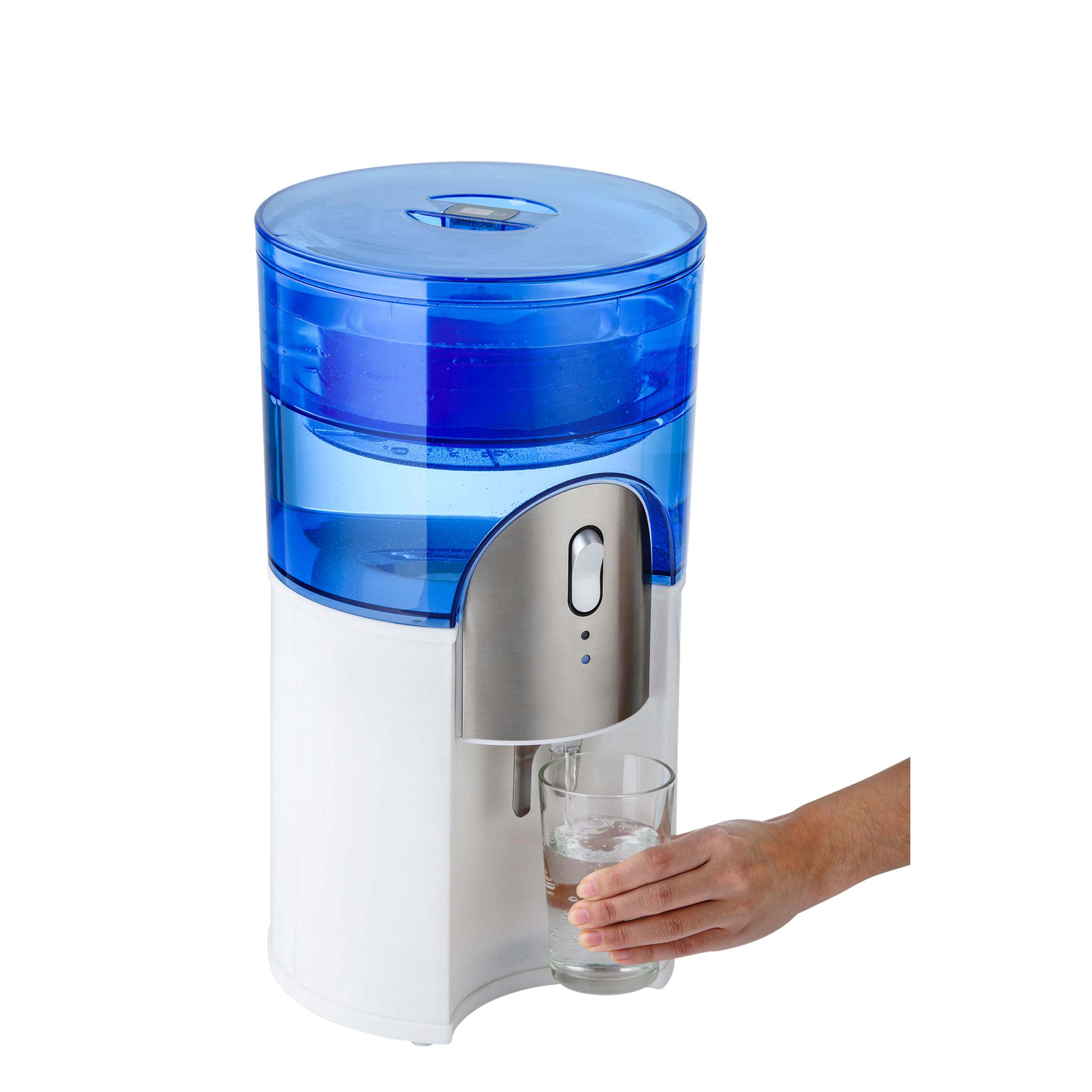 Desktop Water Cooler White water filteration with glass