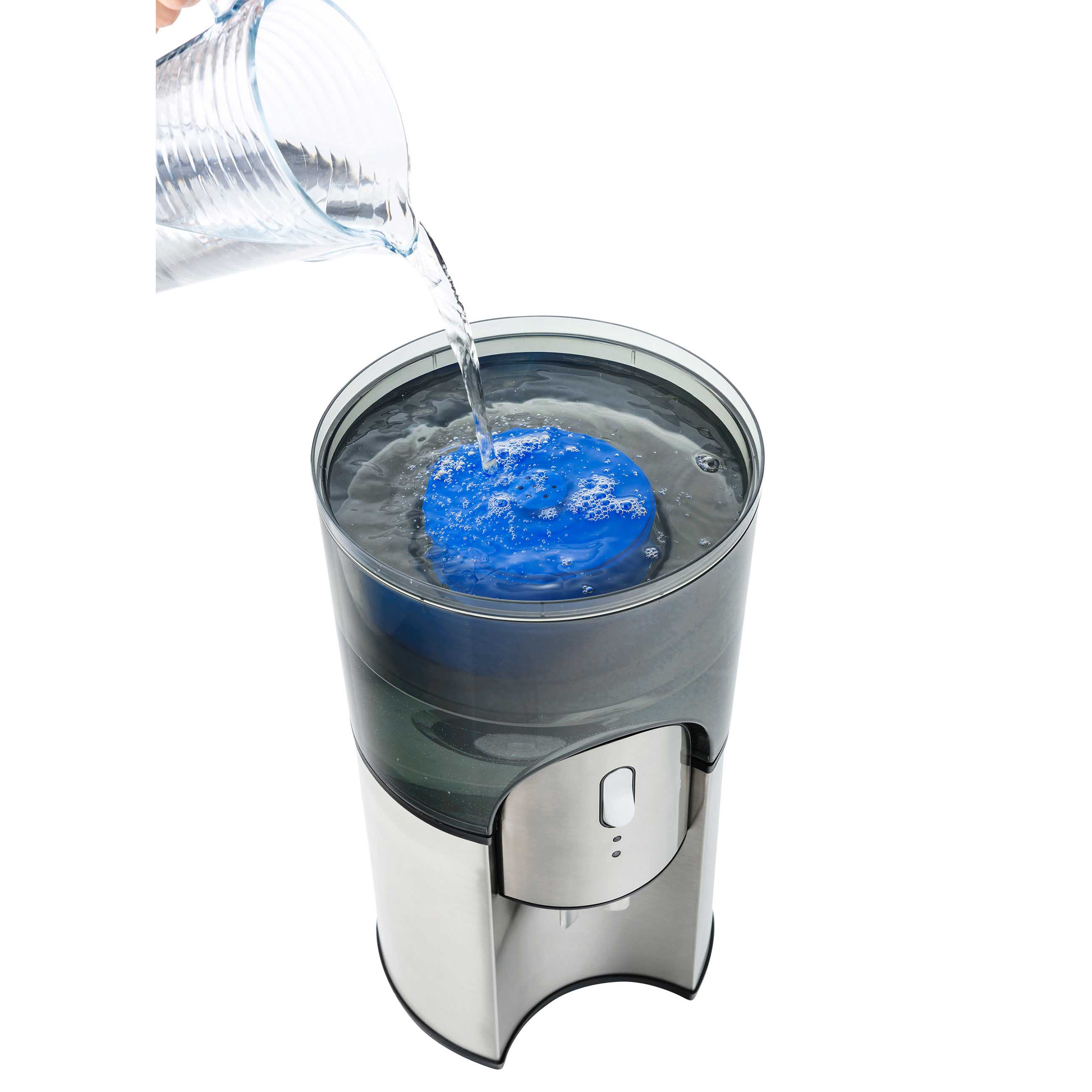 Desktop Water Cooler Stainless Steel Water Filtration in Stainless Steel simply filter tap water