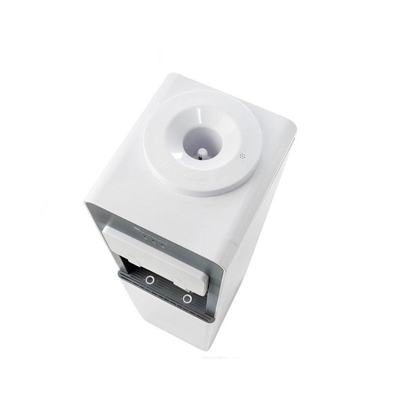 Floor Standing Water Cooler White water filtration top view