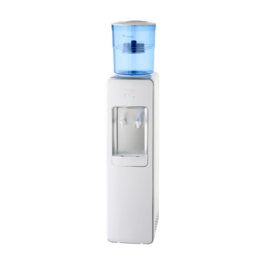 Floor Standing Water Cooler Premium White water filteration in white water bottle