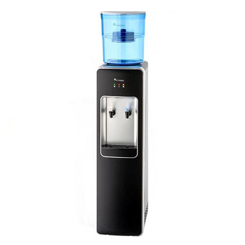 Floor Standing Water Cooler Premium Water Filtration in Black the perfect combination
