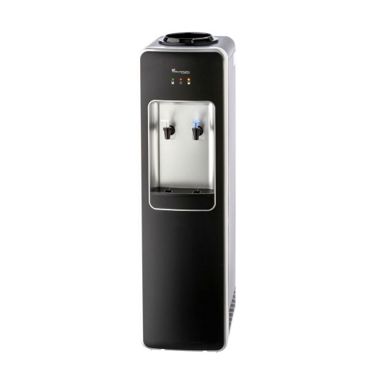 Floor Standing Water Cooler Premium Black Neutral