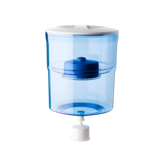 Water Filter Bottle White