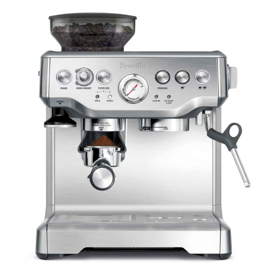 the Barista Express® Brushed Stainless Steel