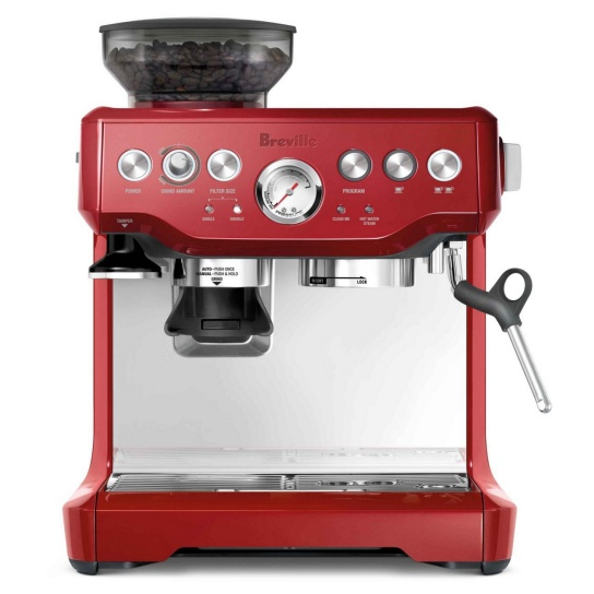 the Barista Express® Cranberry Red