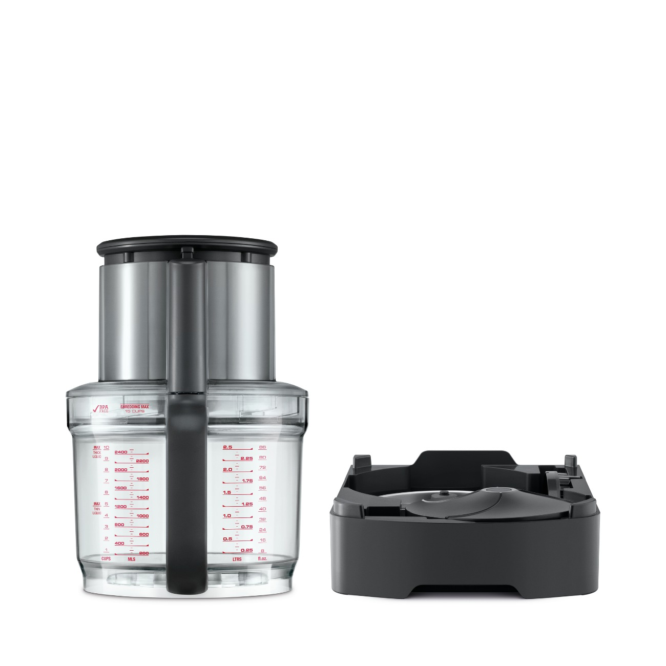 the Breville Dicing & Peeling Compatibility Kit