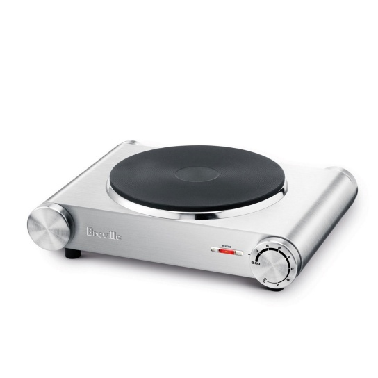 the Handy Hotplate™1 Brushed Stainless Steel