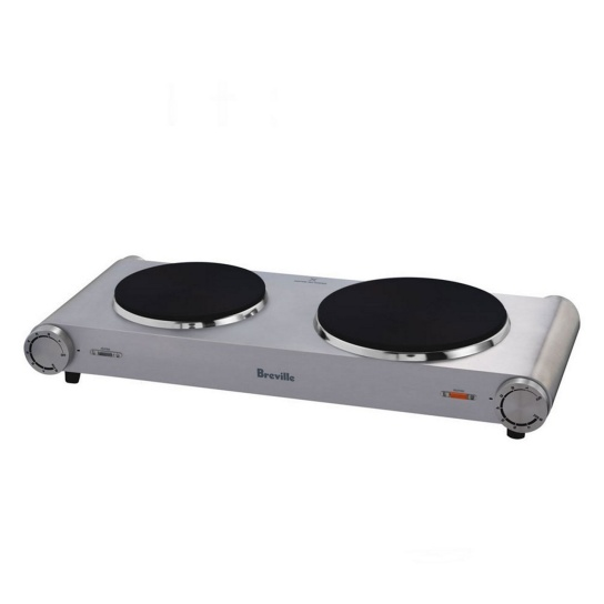 the Handy Hotplate™2 Brushed Stainless Steel