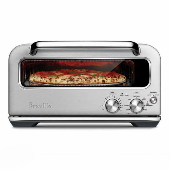 the Smart Oven™ Pizzaiolo Brushed Stainless Steel