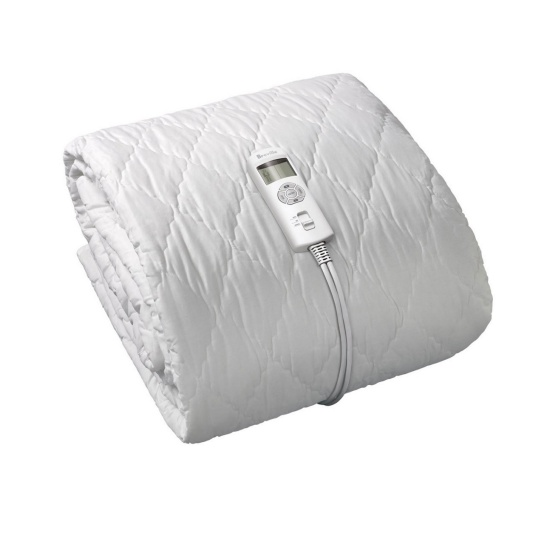 BodyZone® Single / King Single Quilted Fitted Heated Blanket White