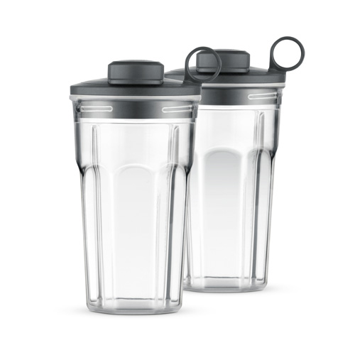 the breville boss to go sport brushed aluminium two ont he go tumblers