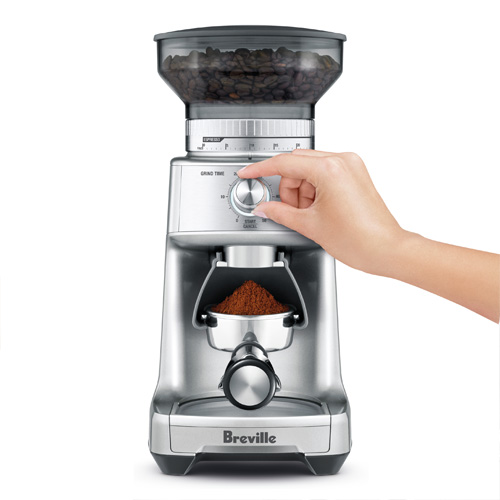 the Dose Control Pro Coffee Grinder in Brushed Stainless Steel 60 grind settings