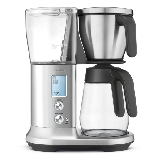 the Breville Precision Brewer™ Glass Brushed Stainless Steel