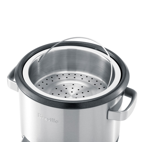 the Multi Chef® In Brushed Stainless Steel steaming function