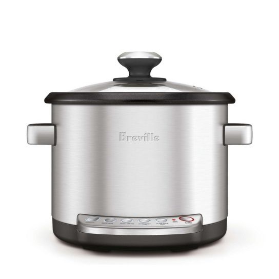 the Risotto Plus™ Brushed Stainless Steel