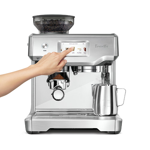 the Barista Touch™ Espresso en Acier inoxydable brossé intelligent.automatique